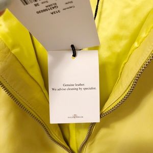 Malene Birger Skirts - Malene Birger neon yellow leather pencil skirt